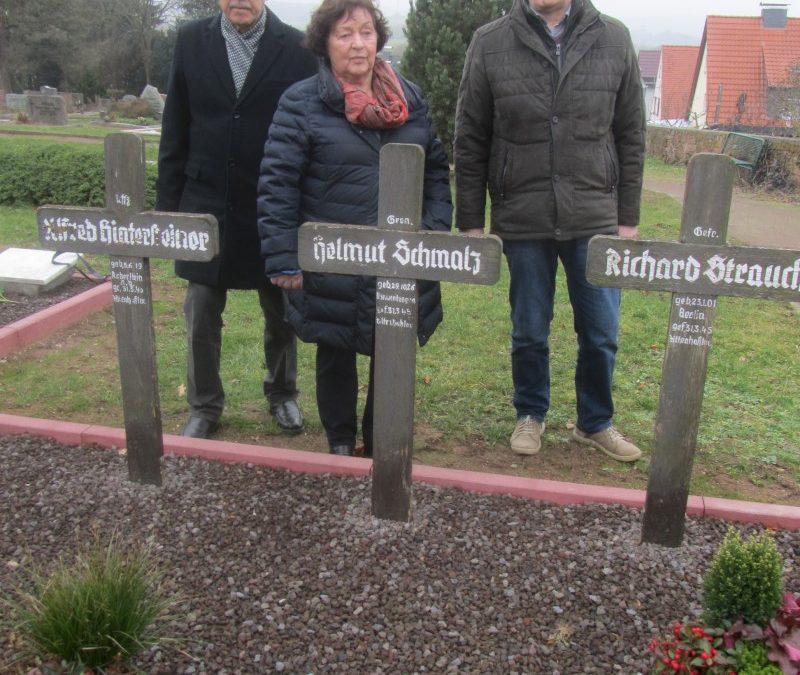 Alter Friedhof Altenhaßlau:  Bürgerliste/FWG Linsengericht dankt für die Herrichtung der Soldatengräber