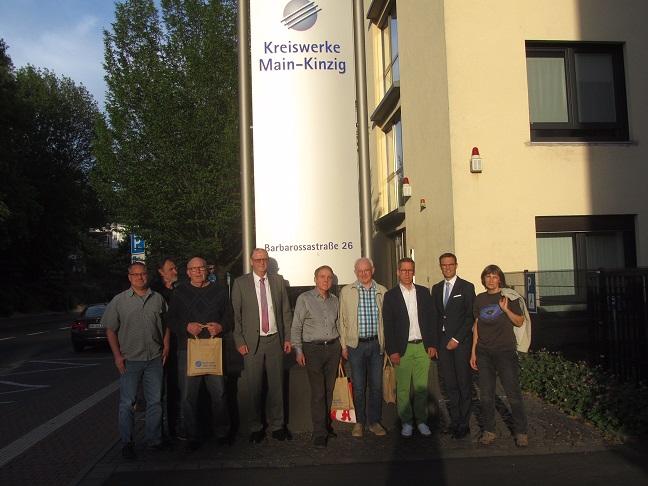 Besuch der Kreiswerke Main-Kinzig mit den Freien Wählern des Main-Kinzig-Kreises