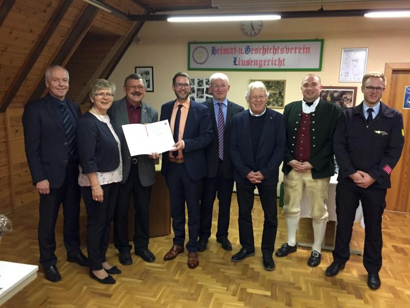 Landesehrenbrief an Karlfred Seifert verliehen