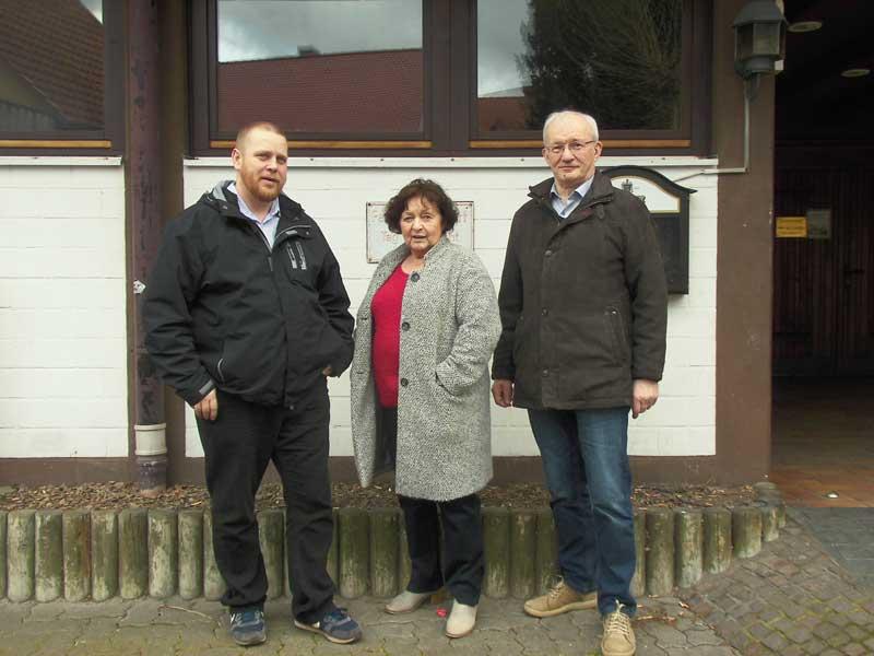 Einbau eines Aufzuges im Bürgersaal Altenhaßlau auf der Zielgeraden