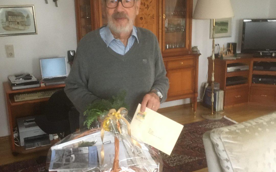 Hans-Gerd Adler aus Eidengesäß feierte 80. Geburtstag