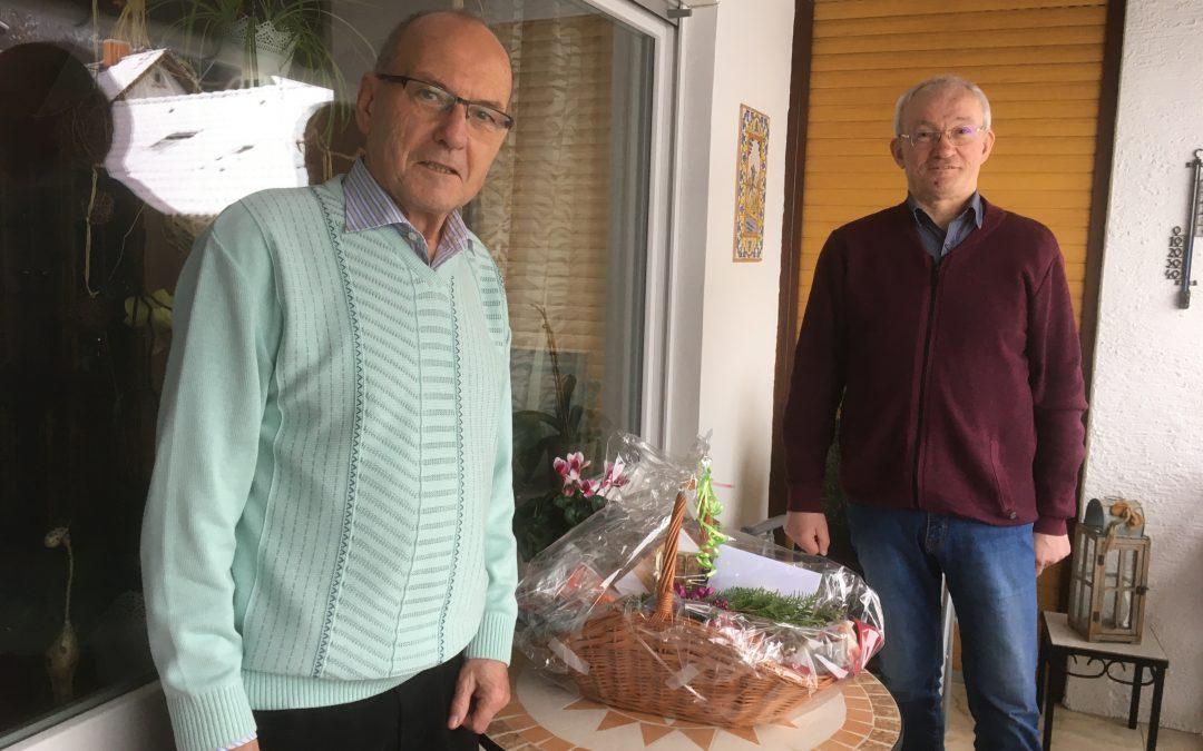 Fritz Weimar aus Eidengesäß feierte 80. Geburtstag