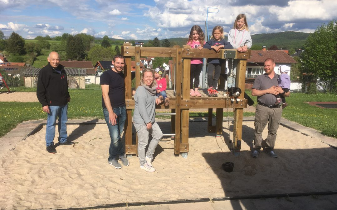 Bürgerliste beantragt neues Spielgerät für den Kinderspielplatz Lützelhausen