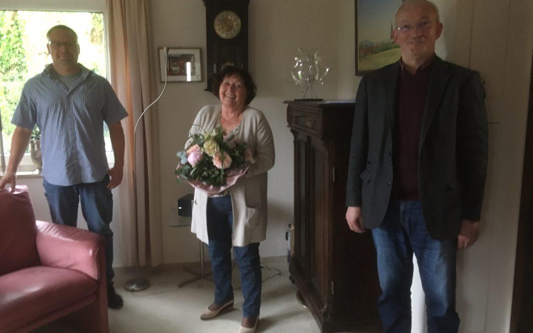 Bürgerliste Linsengericht: Ingrid Schmidt als Ortsvorsteherin verabschiedet