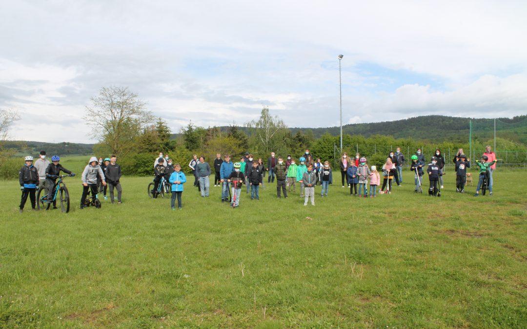Skate-Fun-Anlage und Basketballfläche für Jugendliche aus Großenhausen und Lützelhausen